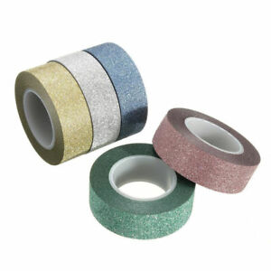 Washi Tape   Decorative Adhesive Masking Tape 15mm x 10m Roll
