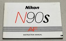 NIKON N90S AF Camera Guide Manual Instruction Photography Book