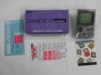 Z4287 Nintendo Gameboy pocket console Purple Japan GB w/box