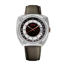 Armbanduhren aus Edelstahl mit Datumsanzeige und Tonneau für Herren