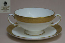 """Wedgwood """"Ascot"""" SOUP COUP & STAND"""