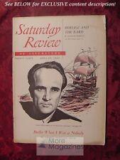 Saturday Review April 29 1950 GEORGE BERNARD SHAW ERNEST GEBLER MARY M. COLUM