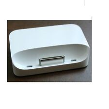 Genuine originale Apple iPhone 3G 3GS DOCK CRADLE USB MB484G/A Bianco Nuovo
