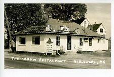 Arrow Restaurant RPPC Vintage Roadside Photo LOBSTER Fried Clams—Reprint?