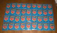 36 TOPPS 1981 SUPERMAN II TRADING CARD PACKS