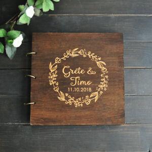 Personalized Photo Album Wedding Memories Wedding Scrapbook Booth Guestbook