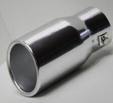 Auspuffblende, Aluminium Auspuff Endrohr Blende zum Anschrauben, ALU rund 78mm
