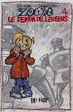 Planche originale projet de couverture Zowie par Bosse et Darasse / Spirou des02