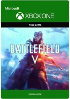 Battlefield (V) 5 Region Free Key Digital Download Code (Xbox One)
