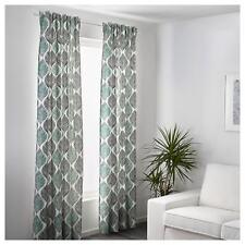 Ikea Linen Curtains Blinds Bedroom Living Room Window Sheer 2 Panels 250x145cm