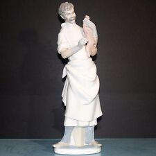 Lladro Doctor Figurine Occupation Obstetrician #4763 14 inch Salvador Furio ret
