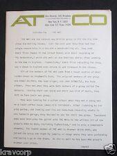 THE WHO—ORIGINAL 1966 'SUBSTITUTE' PRESS RELEASE--VERY RARE WHO MEMORABILIA