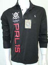Polo Ralph Lauren Black Watch Color Black Performance Mesh Shirt Medium NWT