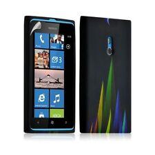Housse coque étui gel pour Nokia Lumia 800 motif LM02 + Film protecteur