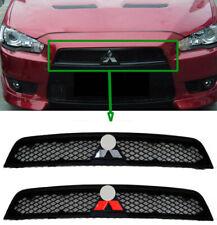 Mitsubishi Lancer & Sportback Front Bumper Black Grille 7450A093