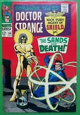 Strange Tales #158 1st Full Living Tribunal Death of Von Strucker 1967 Marvel