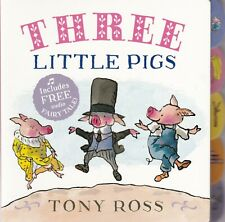 THREE LITTLE PIGS TABBED BOARD BOOK by TONY ROSS