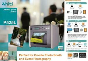 HiTi P525L Compact Dye Sub Photo Printer - Photo booth - Event Photography