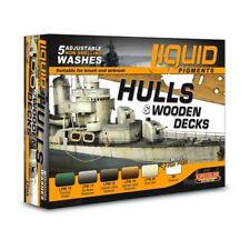 Lifecolor LP04 Liquid Pigments Hulls and Wooden Decks Set 6x22ml (100ml=13,64€)