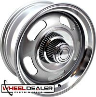 "18x8""-18x9"" REV 107 RALLY WHEELS FOR CLASSIC CHEVROLET GMC C10 SIERRA TRUCK"