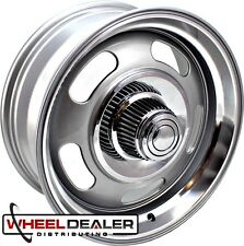 "18"" STAGGERED REV 107 RALLY WHEELS FOR CLASSIC CHEVROLET C3 CORVETTE 1968-1982"