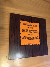 Louis Cottrell And His New Orleans Jazz Band LP VG Nobility Records Autographed