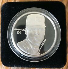 KEN GRIFFEY JR  Highland Mint 1 Troy oz .999 Fine Silver Coin SEATTLE MARINERS