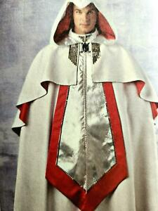 S1040 Sewing Pattern Video Games Assassin's Creed Costume Hooded Cape Steampunk