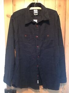 Quiksilver Navy Mans Shirt Size Large BNWT
