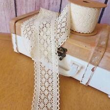 Ruban de Garniture en Nylon Dentelle Ruban Crochet pour Pantalons Manteaux