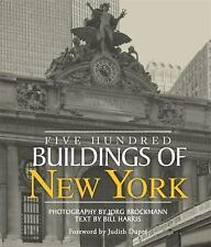 Five Hundred Buildings of New York by Bill Harris Paperback Book - Architecture