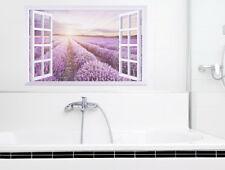 Fliesendekor Fliesenaufkleber Aufkleber Bad Lavendel Fliesenbild Fliesenfolie