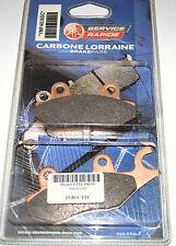 2 plaquettes de frein Carbone Lorraine Yamaha TZR 50 MBK XPOWER neuf