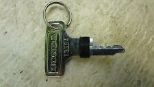 1969 Honda CB750 K0 Sandcast W3-1' NOS early recessed ignition key w/ plug T3364