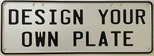 NUMBER PLATE - YOU DESIGN IT - PERFECT FOR MAN CAVE, POOL ROOM, BAR OR GIFT 1212
