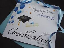 Handmade Personalised Graduation Card