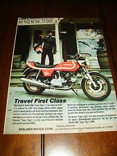 1978 Ducati 900 Super Tiger *Original Ad* Cafe Racer