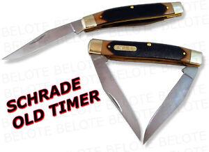 Schrade Old Timer Delrin Muskrat 2-Blade Knife 77OT NEW