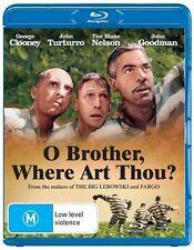 O Brother, Where Art Thou? (Blu-ray, 2012) Brand New Sealed Free Postage 🇦🇺