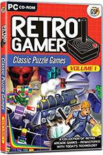 Giocatore Retrò Classico Puzzle GIOCHI VOL 1 (gioco per PC) Nuovo Sigillato in Fabbrica
