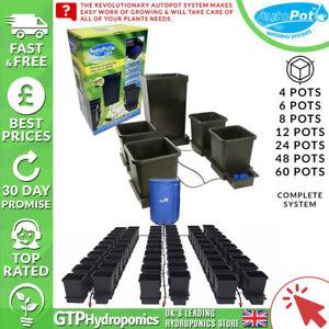 Autopot Complete System - 4/6/8/12/24/48/60 15L Pots + Tank + Parts