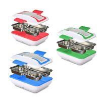 1X(Lunch Box, Tragbare Elektrische Heizung Lunch Wärmer Box Mit Abnehmbarem U8W3