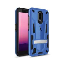 For Nokia C2 Tava - ZIZO Transform Hybrid Case Cover - Blue