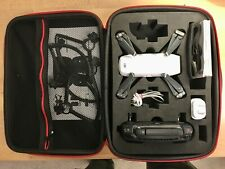 DJI Spark with controller, White - refurbished with protective carry case