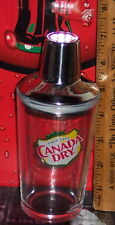 CANADA DRY SINCE 1904 MIXED DRINK DRINK  MIXER GLASS