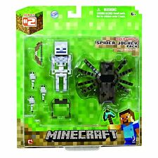 "Minecraft Overworld Jockey D'araignée 3"" Articulé Figurine D'action"