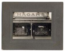 Australia Victoria Carlton - Hagans Boot Arcade - RSL Badge - Photograph c1920
