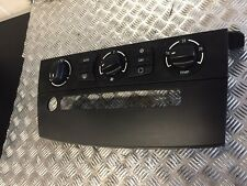 BMW 5 SERIES E60 E61 CLIMATE CONTROL PANEL AC SWITCH HEATING AIR CON CONTROL ...
