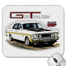 1970   FORD  XW GT FALCON  351GT  SEDAN  ( 6 DIFFERENT CAR COLOURS )  MOUSE PAD