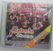 """CARDENALES DE NUEVO LEON """"CON CANCIONES Y TEQUILA"""" IMPORT CD - NEW"""